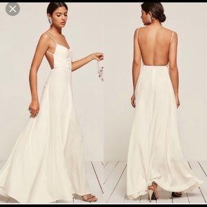 Reformation thistle formal dress wedding dress